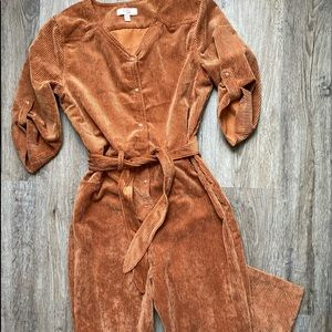 🤎 GB Girls Adorable Brown Corduroy Jumper